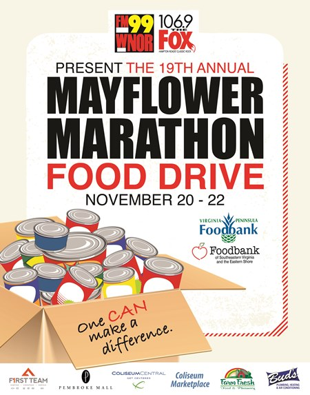 Mayflower Marathon 57 HOUR Food & Fund Drive