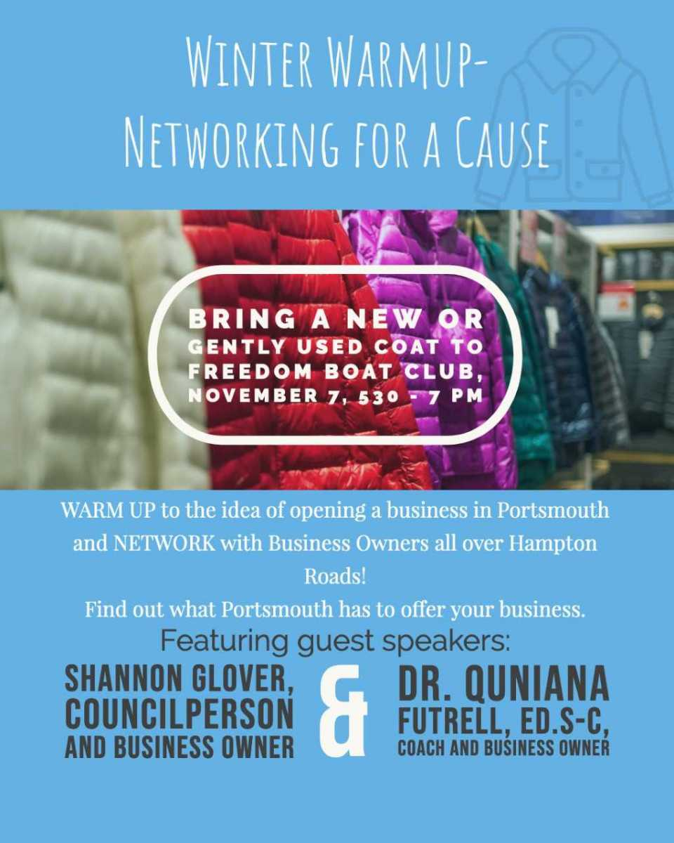 Winter Warmup- Networking For a Cause