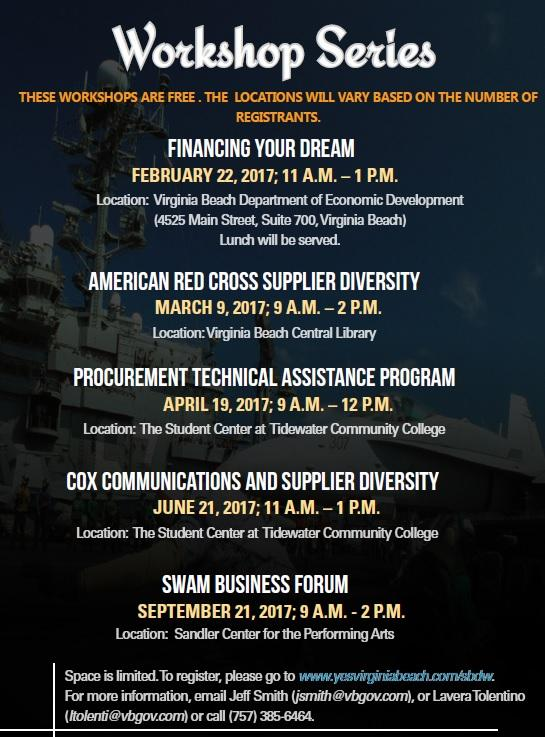 Virginia Beach Economic Development Workshops
