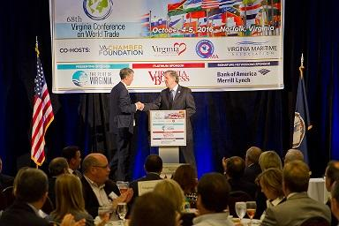 HRCC Recognized During Virginia Conference on World Trade